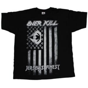 Overkill, T-Shirt, Tour 2017, Flag