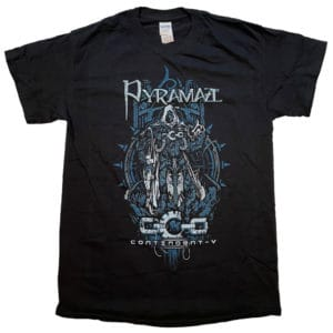 Pyramaze, T-Shirt, Contingent