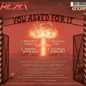 Rezet, EP-CD, YOU ASKED FOR IT