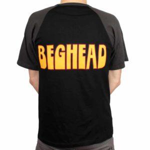 Spiritual Beggars, Raglan T-Shirt, Beghead charcoal