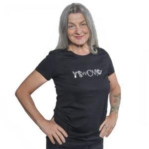 yeswecan!cer, Girlie Shirt, YSwCN!Cr, schwarz