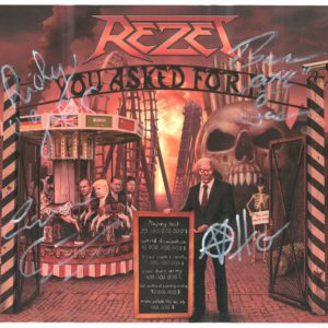Rezet, EP-CD, YOU ASKED FOR IT - signed