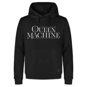 Queen Machine, Hooded Sweater, Logo